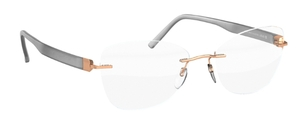Silhouette 5506BZ Rose Gold/Opal Gray