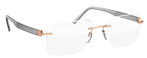 Silhouette 5506DN Rose Gold/Opal Gray
