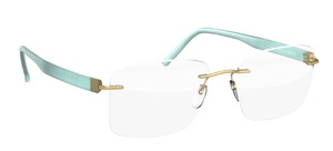 Silhouette 5506DQ Brass/Mint