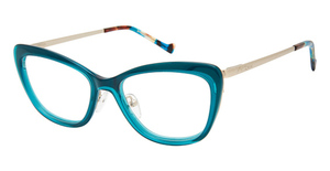 Betsey Johnson DOUBLE LIFE Eyeglasses