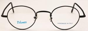Dolomiti Eyewear PC1/P Satin Black with Black Polo Temples