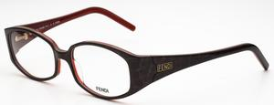 Fendi 608 Dark Leopard/Red