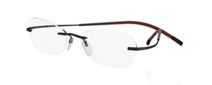Silhouette 7581 chassis Black Red Passion