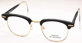 Shuron Ronsir Zyl Ebony/Gold with Relaxo Cable Temples