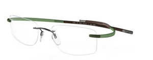 Silhouette 7690 chassis green-brown palmbeach