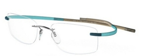Silhouette 7690 chassis teal-brown seaside