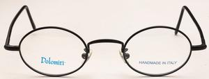 Dolomiti Eyewear OC2/P Satin Black with Black Polo Temples