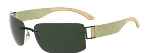Silhouette 8647 Green Polarized