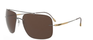 Silhouette 8649 Brown Polarized