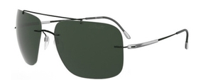 Silhouette 8649 Green Polarized