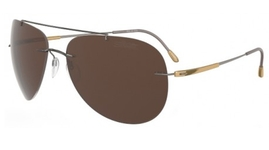 Silhouette 8650 Brown Polarized