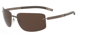 Silhouette 8653 Brown Polarized