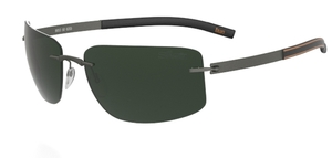 Silhouette 8653 Green Polarized