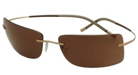 Silhouette 8654 Brown Polarized