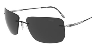 Silhouette 8655 Polarized Gray