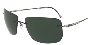 Silhouette 8655 polarized green