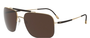 Silhouette 8657 Polarized Brown