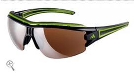 Adidas a167 evil eye halfrim pro L shiny black/green