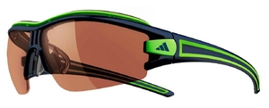 Adidas a168 evil eye half rim pro S ink/lime