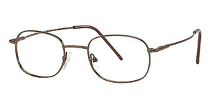 Capri Optics Golden Eyeglasses