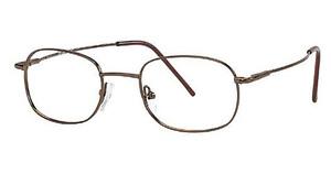 Capri Optics Golden Eyeglasses