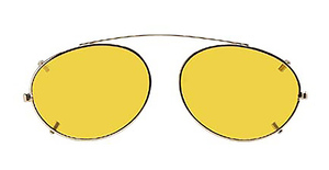 Hilco Enhancer Oval Eyeglasses