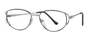 Modern Optical Gail Black-Silver