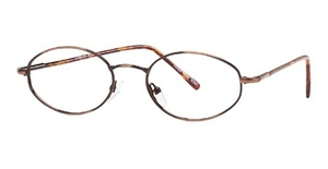 Modern Optical Glad Antique Brown