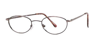 Modern Optical Hillary Antique Brown