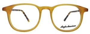 Anglo American AA402 Amber Opal with Amber Havana Temples