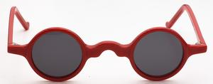 Anglo American Groucho Sun Red/Black Stripe RCS with Grey Lenses