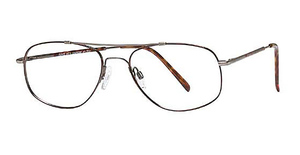 Royce International Eyewear JP-703 Demi Amber-Antique Silver