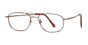 Royce International Eyewear JP-705C Matte Antique Gold Demi Amber