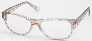 Chakra Eyewear AJ Morgan 69070 Crystal/Brown Crackle +2.00