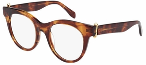 Alexander McQueen AM0004 Striated Havana