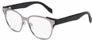 Alexander McQueen AM0013 Shiny Dark Ruthenium