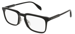 Alexander McQueen AM0079O Black-Black-Transparent