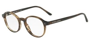 Giorgio Armani AR7004 Striped Brown