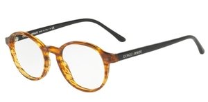 Giorgio Armani AR7004 Striped Light Brown