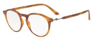 Giorgio Armani AR7040 Matte Striped Brown