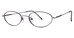 A&A Optical Keller Navy/Gunmetal