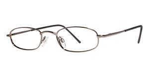 Modern Optical Profile Brown