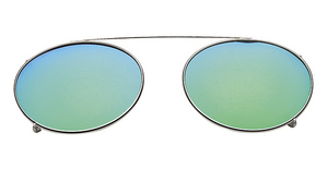 Hilco Flash Mirrored Oval Eyeglasses