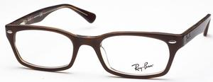 Ray Ban Glasses RX5150 Brown/Transparent Havana