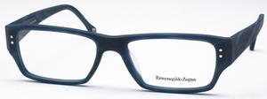 Ermenegildo Zegna VZ3618M Matte Dark Blue/Black