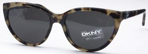DKNY DY4095 Green Havana with Grey Lenses