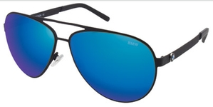 Aspex B6513 Black w/ Blue Mirror Lens  90