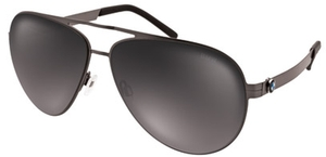 Aspex B6513 Dark Grey w/ Grey Mirror Lens  20
