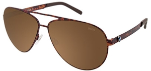 Aspex B6513 Marbled Brown w/ Brown Mirror Lens  10