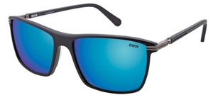 Aspex B6515 Black w/ Blue Mirror Lens  90